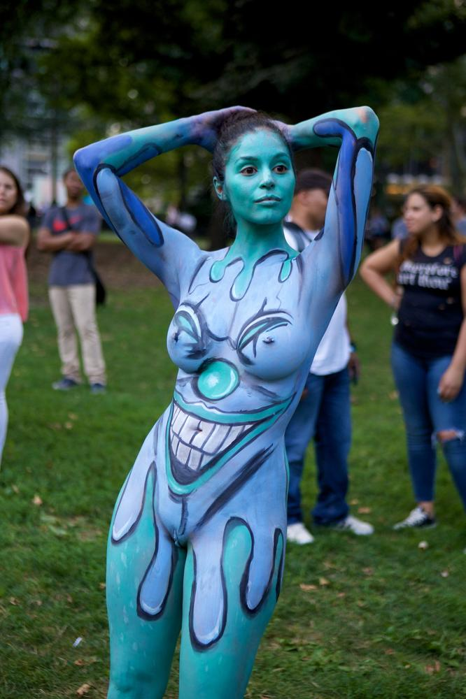 Insatiable Bodypaint Cosplay Updating Pictures 1